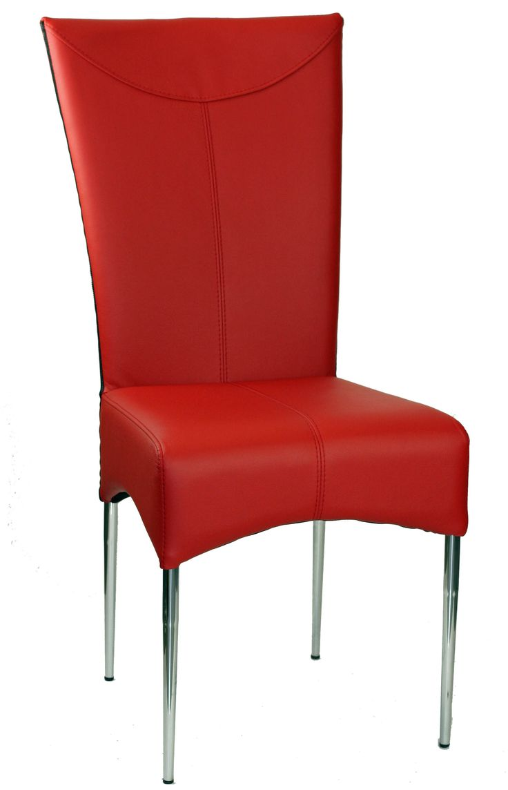 Red Leather Chair W Black Zipper Products I Love