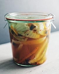 Quick Pickled Ramps With Coriander And Chili Flakes Recipe ...