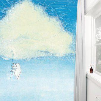 KEK Amsterdam Tapete Climbing the clouds | design3000.de