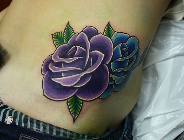 Best 25+ Traditional Rose Tattoos ideas on Pinterest ... Traditional Blue Rose Tattoo