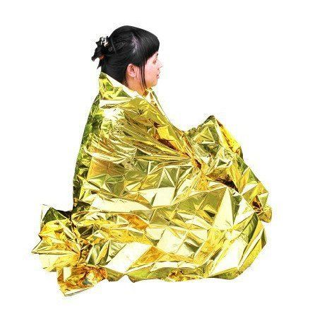 Primacare FB6831 Emergency Foil Silver  Gold Mylar Thermal Blanket 62 Length x 82 Width Pack of 10 ** You can find out more details at the link of the image.(This is an Amazon affiliate link and I receive a commission for the sales)