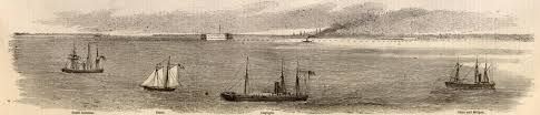 The blockade of Charleston was a part of the Union's Anaconda Plan. It crippled the best port the Confederacy had, and it made many supplies hard to come by.