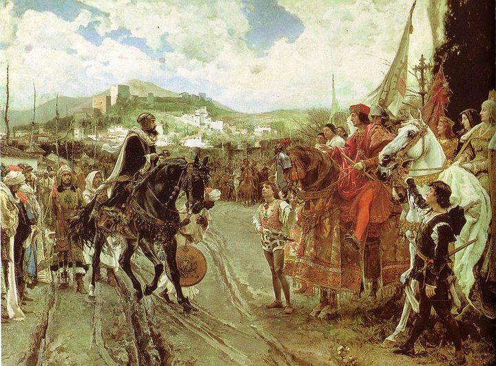 ANECDOTAS HISTORICAS: Rendicion de granada a los reyes catolicos - 1492 | MIRFER |