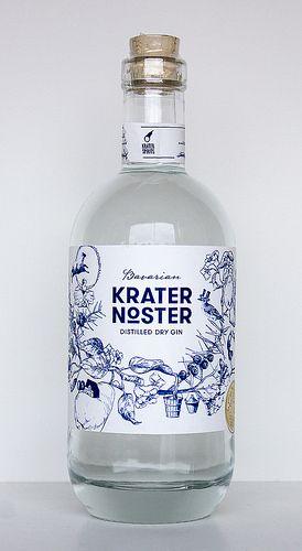 Krater Noster Bavarian Distilled Dry Gin - Gin Nerds