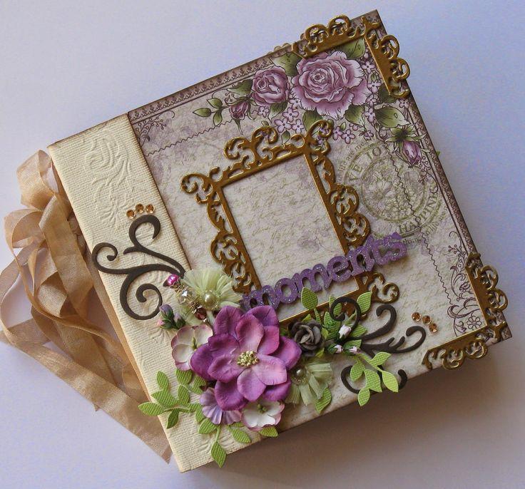 Couture Creations: Moments Mini Album by Jo Piccirilli | #couturecreationsaus #decorativedies #embossingfolders #minialbum