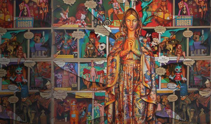 The Virgin Transcends Art