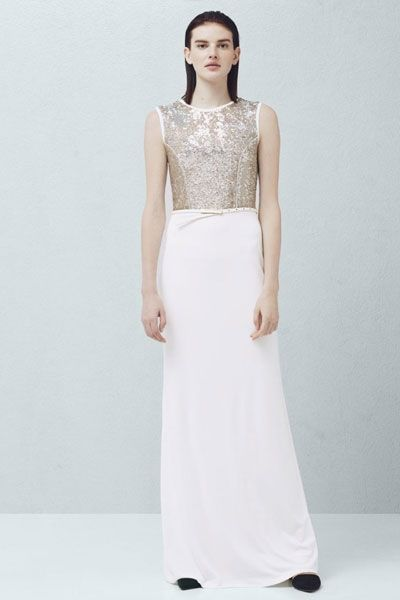 Hochzeitskleider günstig: Paillettenkleid von Mango