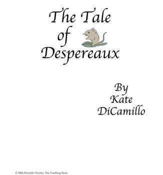 The Tale of Despereaux Coloring Pages: Despereaux's Roscuro and ... | 350x326
