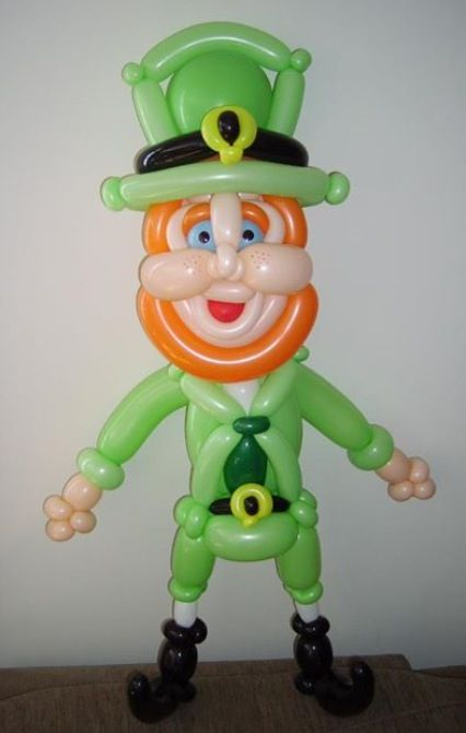 17 best images about st patrick 39 s day on pinterest for Balloon decoration instructions