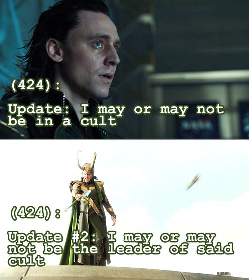 Texts from the Avengers - Loki
