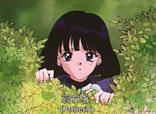 Imagen de sailor moon, anime, and sailor saturn