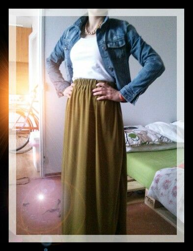 My new home made skirt