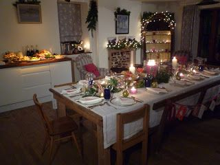 Friendly Cottage: 'kirsties homemade christmas' decorations