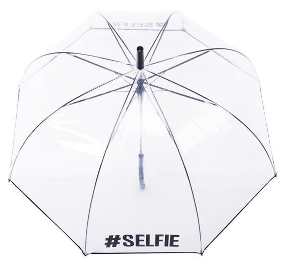 Selfie Clear Dome Umbrella | You'll soon be trending soon enough with this clear dome umbrella - see it for yourself!