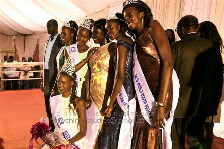 Christine Arual Longar crowned Miss South Sudan 2017