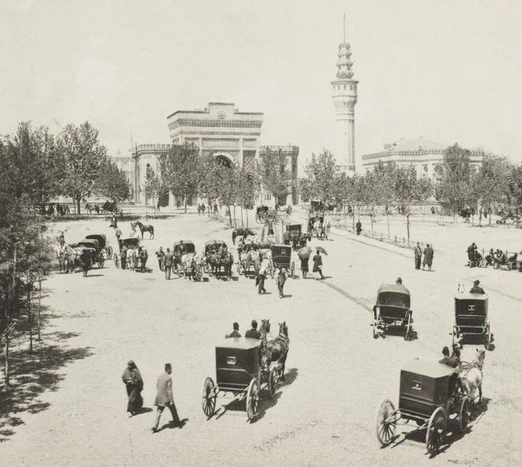 [Ottoman Empire] Istanbul, Seraskerat, 1900s (Osmanlı İstanbulu, Seraskerat, 1900'lar)