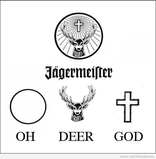 The meaning of the Jägermeister logo