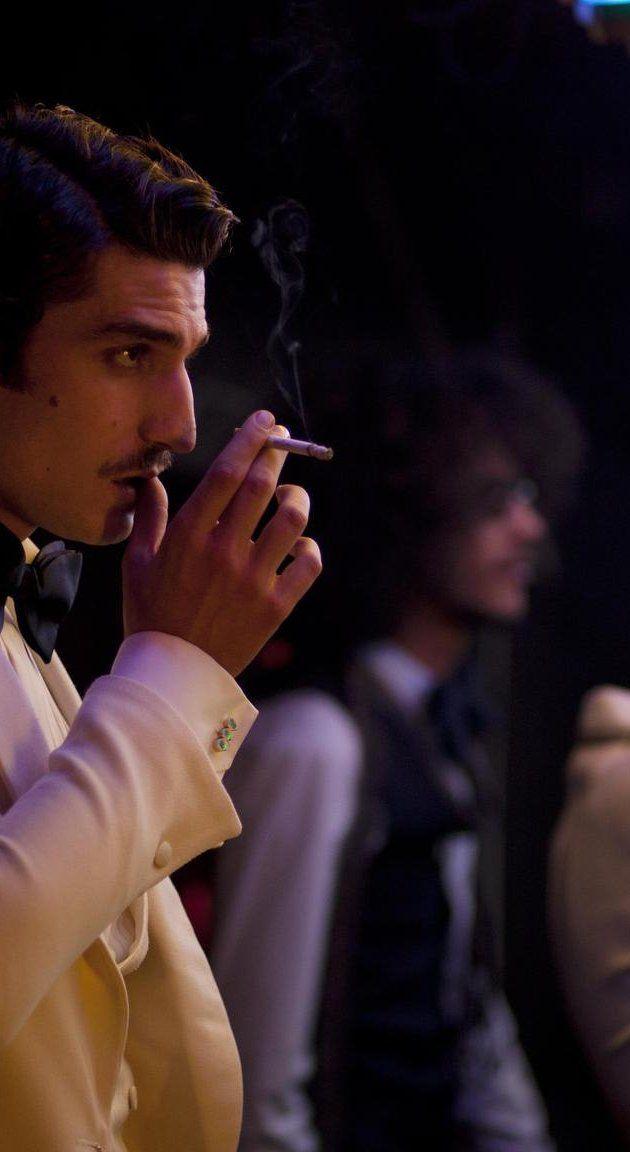 Louis Garrel joue l'amant vénéneux Jacques de Bascher. Saint-Laurent (Bertrand Bonello, 2014)