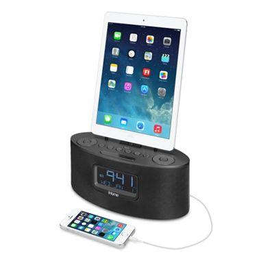 iHome iDL46 Stereo FM-klockradio med Lightning-docka - Apple Store (Sverige)