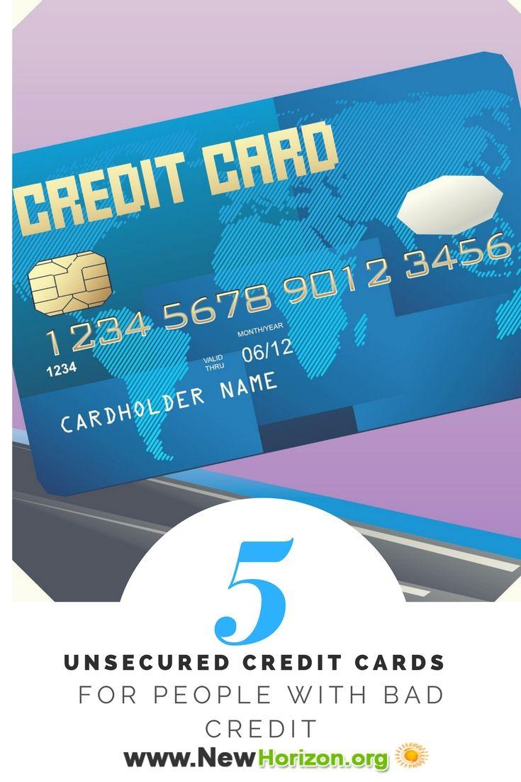 Bad Credit Credit Cards >> Unsecured Credit Cards Bad No Credit Bankruptcy O K Bad Credit