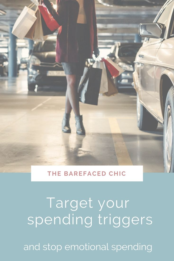 5 Helpful and effective tips which encourage you to put a reign on you overspending habits. From finding your overspending triggers, why you overspend and how to approach shopping with more self discipline. Every person who overspends for emotional gratification can use these tips to STOP! via @Barefaced_Chic
