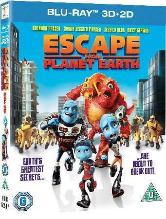 Escape From Planet Earth Childrens animated adventure featuring the voice talents of Brendan Fraser Rob Corddry and William Shatner. On planet Baab Gary Supernova (voice of Corddry) is head of mission control at the Baabian A http://www.MightGet.com/january-2017-12/escape-from-planet-earth.asp