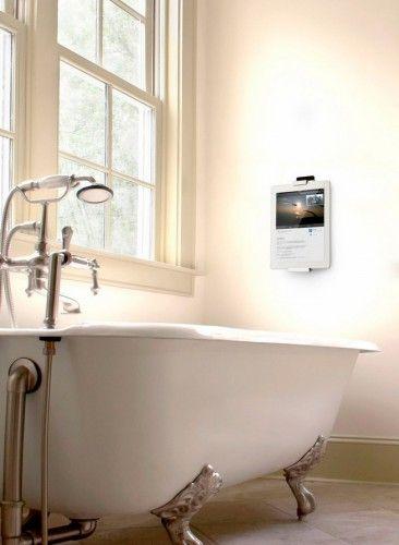 Coole iPad Wandhalterung für Zuhause #iPad #iPadAir #iPadmini