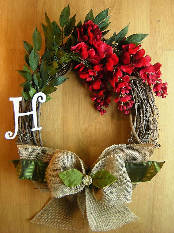 17 Best Images About Grapevine Wreaths On Pinterest Red