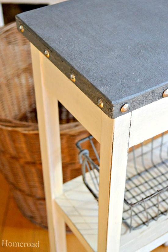 galvanized steel table top www.homeroad.net