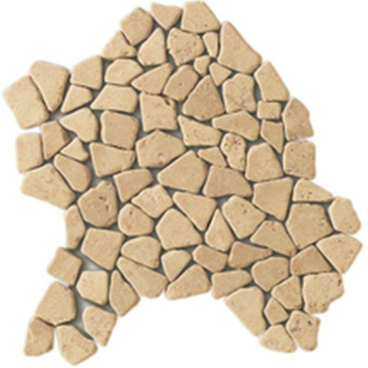 nilam kieselmosaik mosaik fliesen mosaik mosaik wand bad design travertin champagner tiling - Bordre Bad Bilder