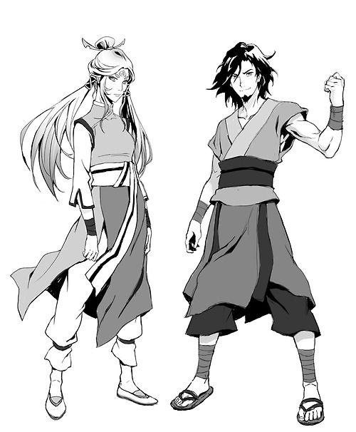 Avatar Wan and Human Raava
