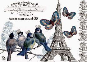 PAPIROLAS COLORIDAS: Romanticismo en colores shabby chic
