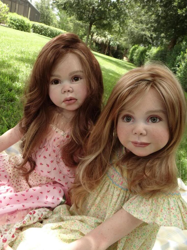 Gerlinde Feser kits, beautiful girls by Ruth Aguilar.
