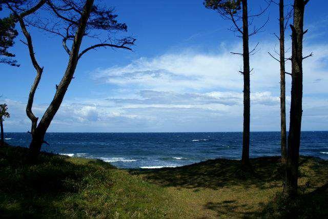 morze w Trzęsaczu / Sea