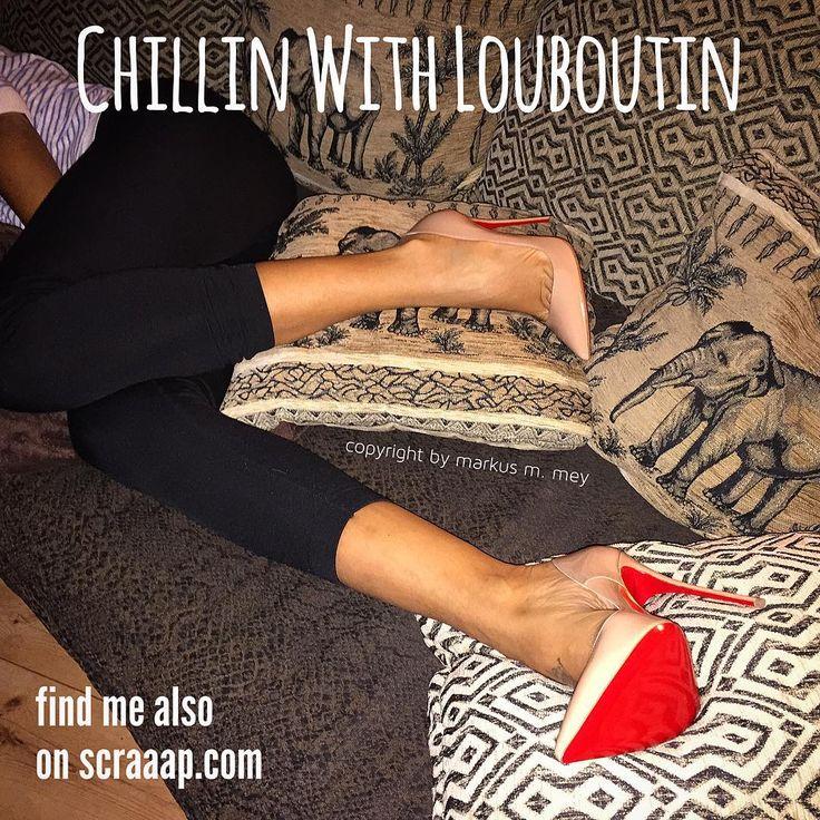 Chillin with Louboutin's So Kate #highheels #highheelstagram #shoeporn #stiletto #louboutin #christianlouboutin #ladypeep #sokate #femdom #love #fashion #feet #fetish #femaledomination #dangling #crush #obsession #luxury #fetish #legs #leggins #malivisia #MarkusMMey #scraaap