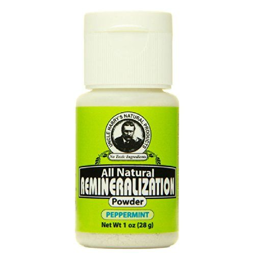 Uncle Harry's Natural Remineralization Tooth Powder - Pep... http://www.amazon.com/dp/B008KPZSE0/ref=cm_sw_r_pi_dp_tu4kxb046MCCP