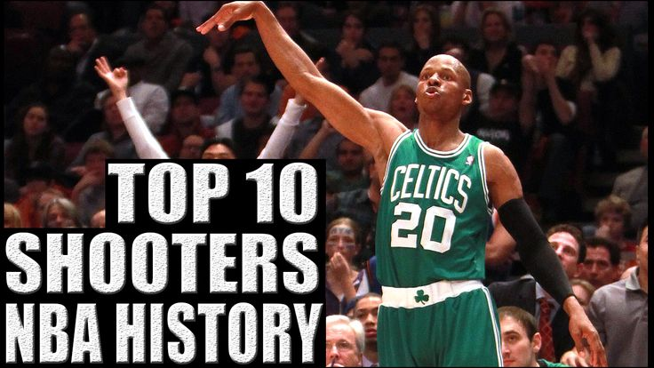 After already completing the Top 10 3-Point Shooters in NBA History list, I have been inspired to do the Top 10 Shooters in NBA History. Inevitably, there are going to be some overlapped names, but there are some legendary players that didn't make the cut for top 10 3-point shooters that deserve some recognition. http://www.prosportstop10.com/top-10-best-shooters-in-nba-history/