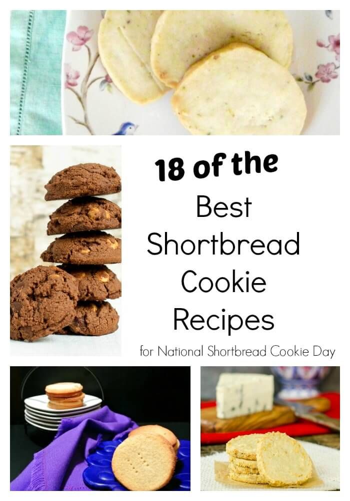 These are the best shortbread cookie recipes ever! Today is National Shortbread cookie day and I am share the best recipes around.