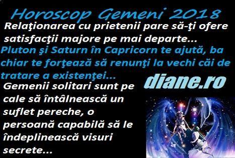 Horoscop Gemeni 2018