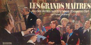 """Vintage 1970. Collection. Jeu ancien """"Les Grands Maîtres"""""""