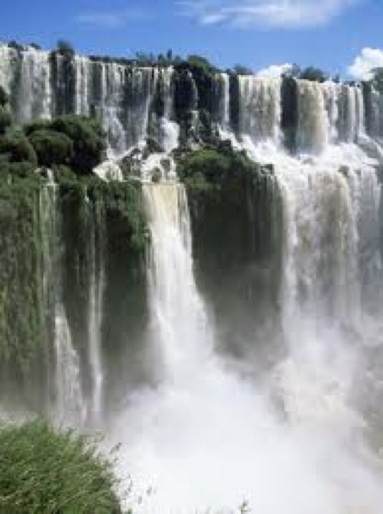 The semicircular waterfall at the heart of this site is some 80 m high and 2,700 m in diameter and is situated on a basaltic line spanning the border between Argentina and Brazil. Made up of many cascades producing vast sprays of water, it is one of the most spectacular waterfalls in the world. The surrounding subtropical rainforest has over 2,000 species of vascular plants and is home to the typical wildlife of the region: tapirs, giant anteaters, howler monkeys, ocelots, jaguars and…