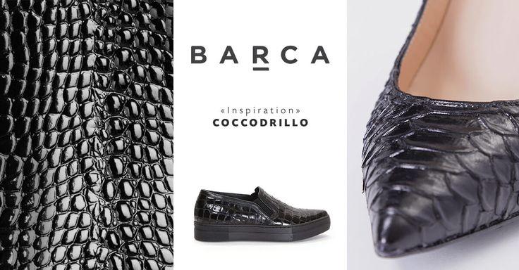 La pelle di coccodrillo dona un tocco di stile ad ogni tuo look. Scopri tutti i nostri modelli: http://www.barcastores.com/