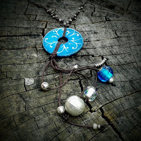 Hey, I found this really awesome Etsy listing at https://www.etsy.com/listing/250039574/ceramic-necklace-turquoise-mandala