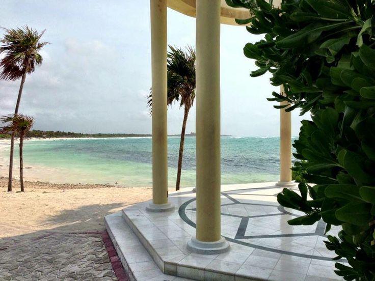 Grand Palladium Mayan Riviera, Beach Front Wedding Gazebo