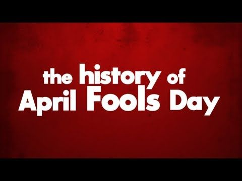 The origins of April Fool's Day.   CC loves the whole month of April, fools! hahaha lol