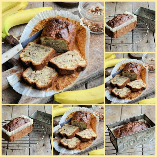 Lavender and Lovage | An Old Vintage Hovis Bread Tin and Nigel Slater's Black Banana Cake Recipe | http://www.lavenderandlovage.com