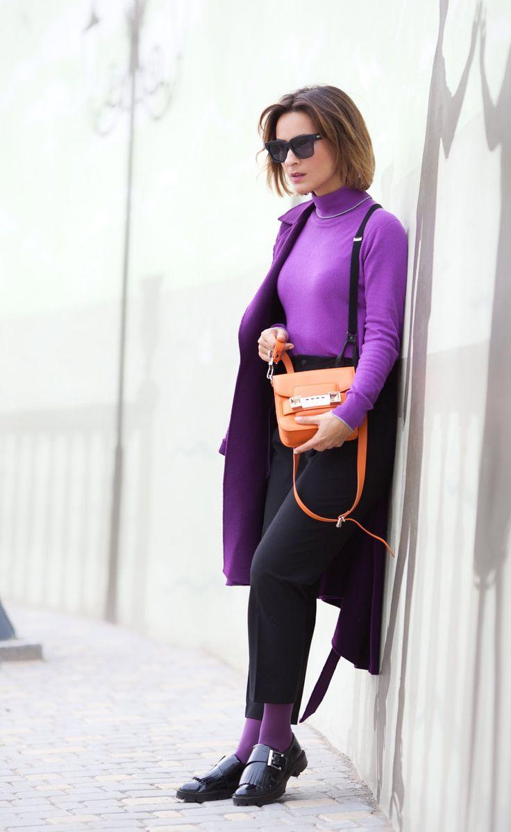 Фиолетово...