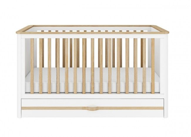 Convertible Cot Bed into Junior Bed