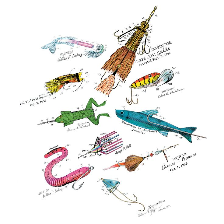 36 best sextant author david barrie on the halli for Names of fishing lures