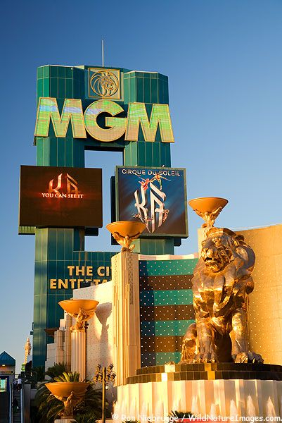 MGM Grand Hotel & Casino found on the Las Vegas strip, Las Vegas Nevada